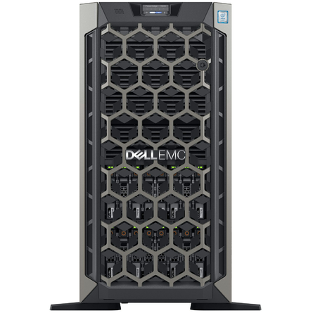 Server Dell EMC PowerEdge T640 Xeon-S 4210/16GB DDR4/2TB HDD/PERC H730P/2x750W