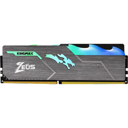Ram Desktop KingMax Zeus Dragon RGB 8GB (1x8GB) DDR4 3000MHz