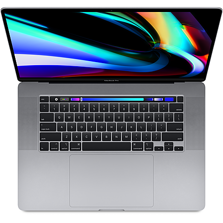 Máy Tính Xách Tay Apple MacBook Pro 16 Retina 2019 Core i7 2.6GHz/16GB DDR4/512GB/5300M 4GB/Touch Bar + Touch ID - Space Gray (MVVJ2SA/A)