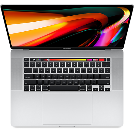 Máy Tính Xách Tay Apple MacBook Pro 16 Retina 2019 Core i7 2.6GHz/16GB DDR4/512GB/5300M 4GB/Touch Bar + Touch ID - Silver (MVVL2SA/A)